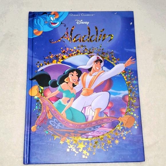 Like New! Disney Aladdin Hardcover Book